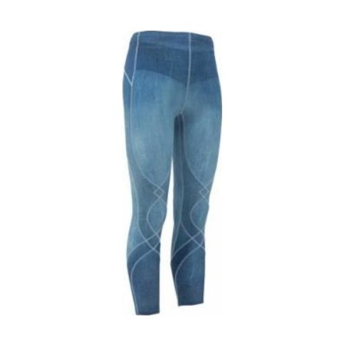 CW-X Stabilyx Tights Women's Denim Blue