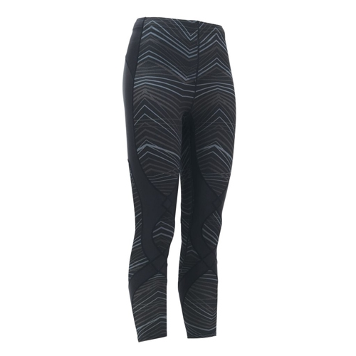 CW-X Stabilyx Tights Women's Black/Grey/ZigZag
