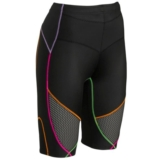 CW-X Ventilator Stabilyx Short Women's Black/Rainbow/Stripe
