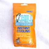 "Chill Cooling Towel XSmall Size 10"" X 10"""