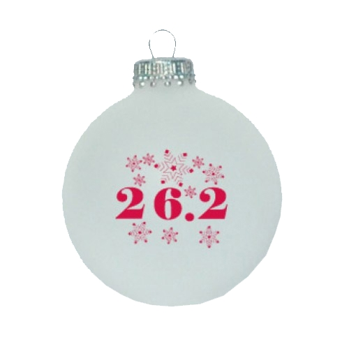 Christmas Ornament White 26.2 Snowflakes