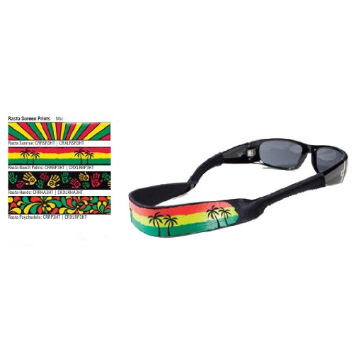 Croakies Originals Rasta Mix