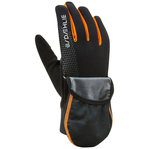 Daehlie Glove Rush Men's Black/Orange