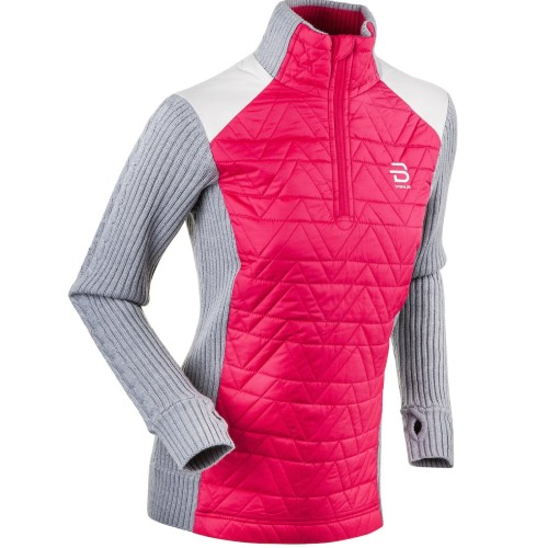 Daehlie Half Zip Comfy Women's Rose/Grey
