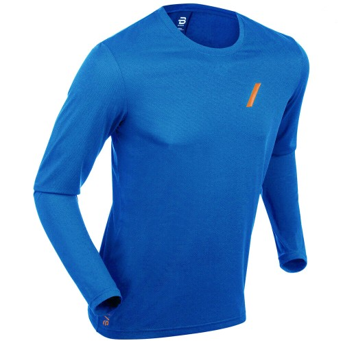Daehlie Long Sleeve Flash Men's Directoire Blue