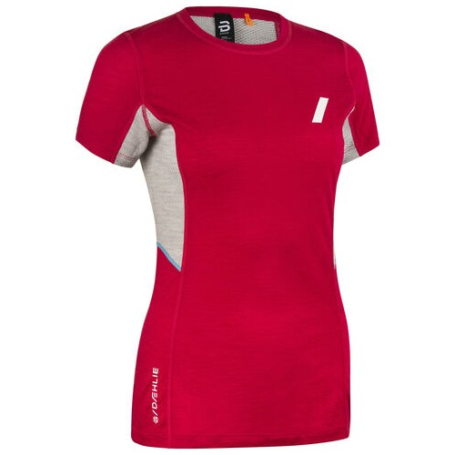 Daehlie Training Wool Summer T Women's Bright Rose
