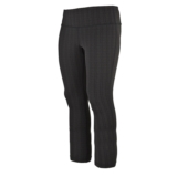 Diadora Long Jacquard Tight Womens Black/Charcoal
