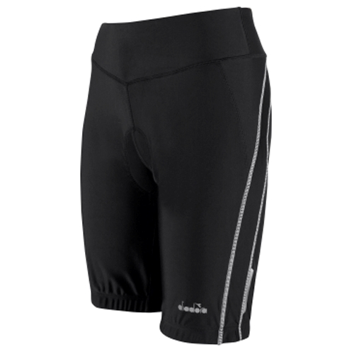 "Diadora Marseilles Bike Short Women's 9"" Black"