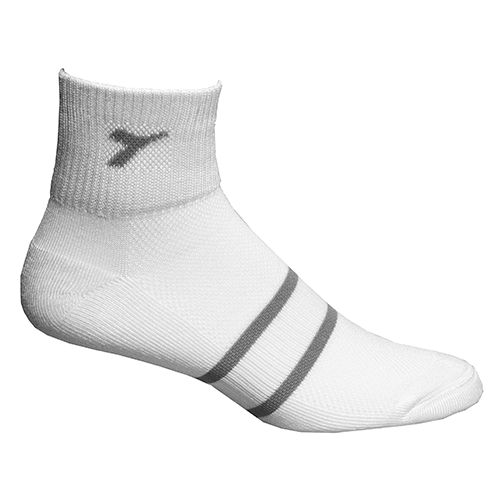 Diadora Running 1/4 Socks Unisex White