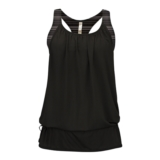 Diadora Virisana 2 Layer Tank Women's Black/Black Stripe