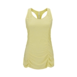 Diadora Yoga Lotus Jersey Tank Women's Yellow Iris