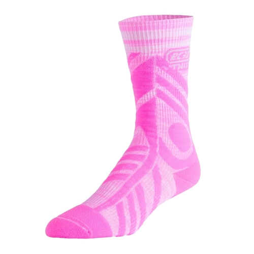 EC3D Compression Twist Crew Unisex Pink/White