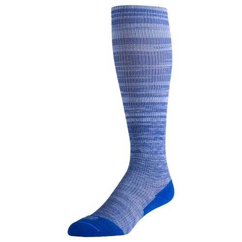 EC3D Heather Compression Socks Unisex Blue