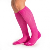 EC3D Heather Compression Socks Unisex Berry