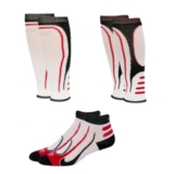 EC3D Hybrid Combo Compression Unisex White/Red/Black