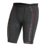 EC3D Sport Compression Short Unisex Charcoal/Red/White