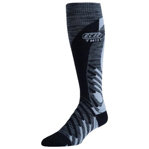 07b987a78d EC3D Twist Compression Socks Unisex Black/Grey - EC3D Style # CG800C-BKG S16