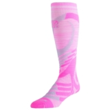 EC3D Twist Compression Socks Unisex Pink/Grey