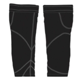 EVO/O2 Knee Warmers Unisex - Black