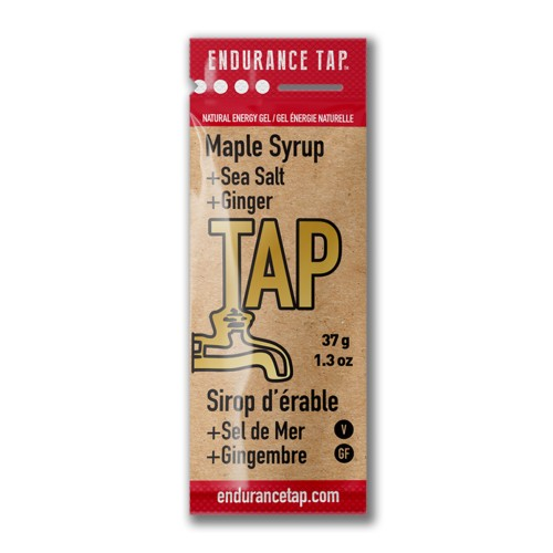 Endurance-Tap-Gel-Single Maple Syrup 38g