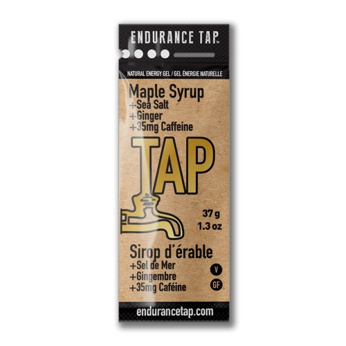 Endurance-Tap-Gel-Single Maple Syrup w/ Caffeine 38g