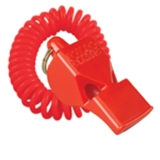FOX 40 Classic Safety Whistle Red with Coil