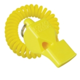 FOX 40 Classic Safety Whistle Yellow with Coil