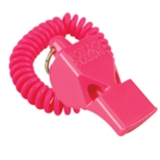 FOX 40 Classic Safety Whistle Pink with Coil