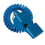FOX 40 Classic Safety Whistle Blue with Coil