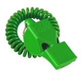 FOX 40 Classic Safety Whistle Neon Green with Coil