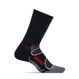 Feetures Elite LC Mini-Crew Unisex Black/Red