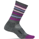 Feetures Elite LC Mini-Crew Women's Stripe Violet