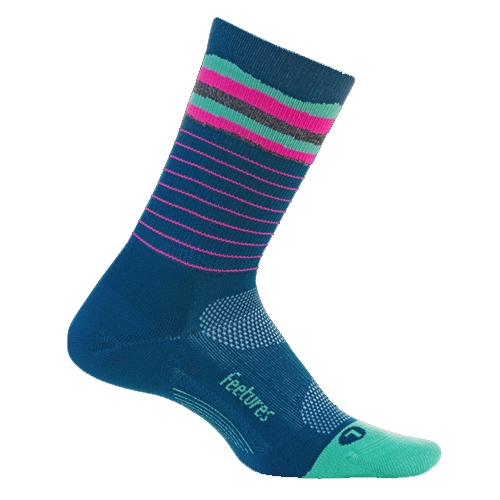 Feetures Elite LC Mini-Crew Women's Cascade Moroccan Blue