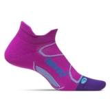 Feetures Elite LC No Show-Tab Women's Orchid/Blue Lagoon
