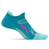 Feetures Elite LC No Show-Tab Women's Capri/Pink Pop