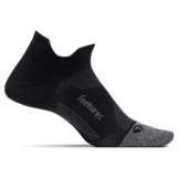 Feetures Elite LC No Show-Tab Unisex Black