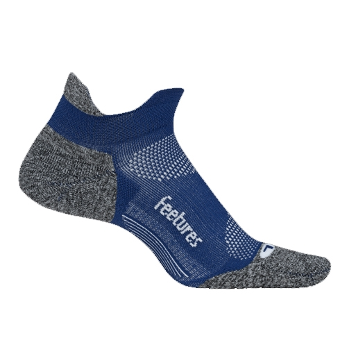 Feetures Elite LC No Show-Tab Unisex Sapphire - Feetures Style # E50166 C19