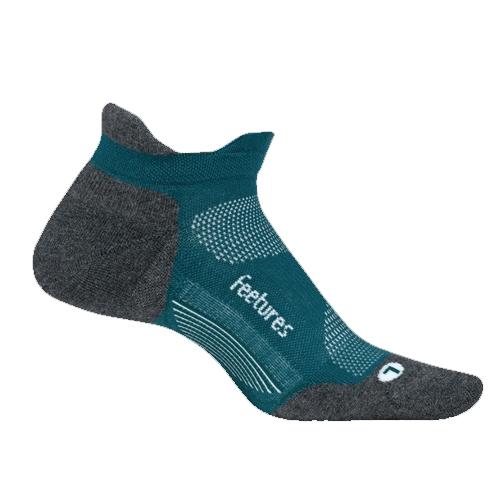 Feetures Elite LC No Show-Tab Unisex Emerald