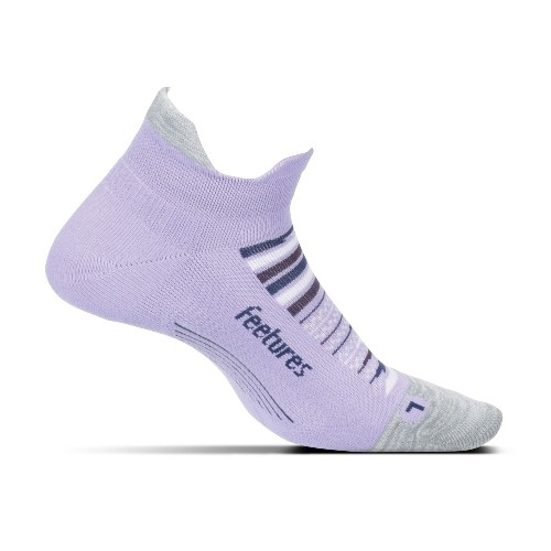 Feetures Elite LC No Show-Tab Women's Purple Horizon