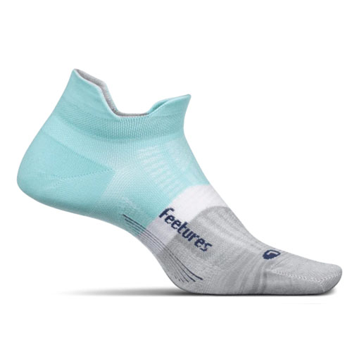 Feetures Elite LC No Show-Tab Women's Purist Blue
