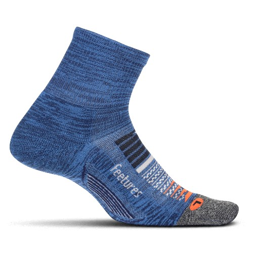 Feetures Elite LC Quarter Unisex Nebula Navy