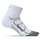 Feetures Elite MC Quarter Unisex White/Black