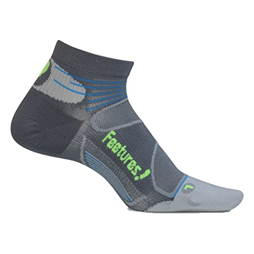 Feetures Elite UL Low Cut Unisex Graphite/Reflector