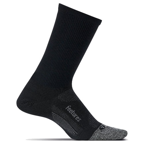 Feetures Elite UL Mini Crew Unisex Black