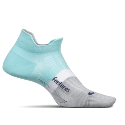 Feetures Elite UL No Show Tab Unisex Purist Blue