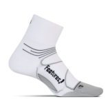 Feetures Elite UL Quarter Unisex White/Black