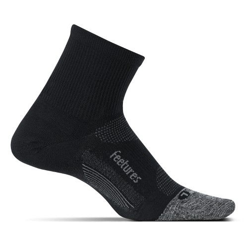 Feetures Elite UL Quarter Unisex Black