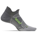 Feetures Elite ULC No Show Tab Unisex Graphite/Reflector