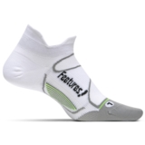 Feetures Elite ULC No Show Tab Unisex White/Black