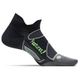 Feetures Elite ULC No Show Tab Unisex Black/Reflector